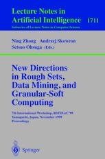 New Directions in Rough Sets, Data Mining, and Granular-Soft Computing
