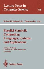 Parallel Symbolic Computing: Languages, Systems, and Applications
