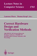 Correct Hardware Design and Verification Methods