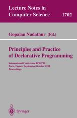 Principles and Practice of Declarative Programming
