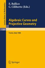 Algebraic Curves and Projective Geometry