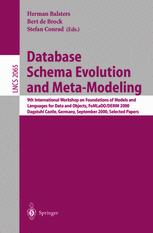 Database Schema Evolution and Meta-Modeling