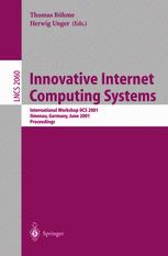 Innovative Internet Computing Systems