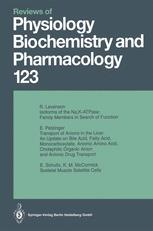 Reviews of Physiology, Biochemistry and Pharmacology, Volume 123