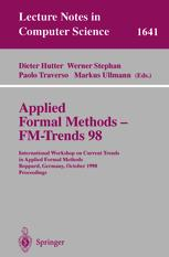 Applied Formal Methods — FM-Trends 98