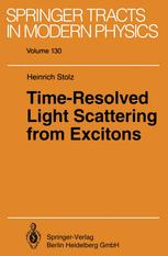 Time-Resolved Light Scattering from Excitons
