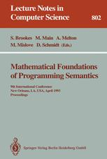 Mathematical Foundations of Programming Semantics