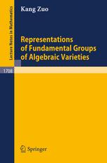 Representations of Fundamental Groups of Algebraic Varieties