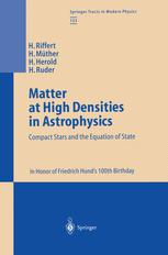 Matter at High Densities in Astrophysics