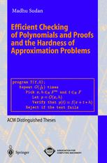 Efficient Checking of Polynomials and Proofs and the Hardness of Appoximation Problems