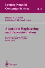 Algorithm Engineering and Experimentation