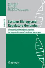 Systems Biology and Regulatory Genomics