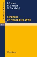 Séminaire de Probabilités XXVIII
