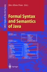Formal Syntax and Semantics of Java