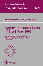 Application and Theory of Petri Nets 1999
