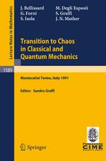 Transition to Chaos in Classical and Quantum Mechanics