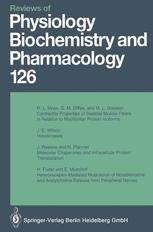 Reviews of Physiology, Biochemistry and Pharmacology, Volume 126