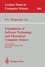 Foundation of Software Technology and Theoretical Computer Science