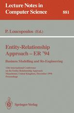 Entity-Relationship Approach — ER '94 Business Modelling and Re-Engineering