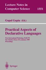 Practical Aspects of Declarative Languages