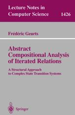 Abstract Compositional Analysis of Iterated Relations