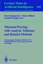 Theorem Proving with Analytic Tableaux and Related Methods