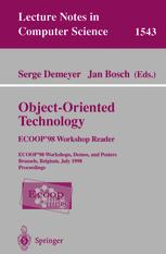 Object-Oriented Technology: ECOOP'98 Workshop Reader