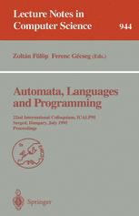 Automata, Languages and Programming