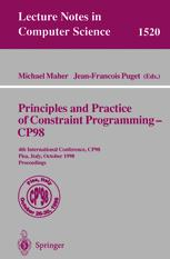 Principles and Practice of Constraint Programming — CP98