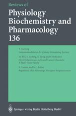 Reviews of Physiology, Biochemistry and Pharmacology, Volume 136
