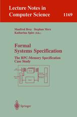 Formal Systems Specification