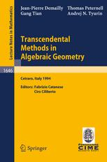 Transcendental Methods in Algebraic Geometry