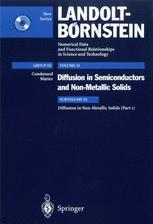 Diffusion in Non-Metallic Solids (Part 1)
