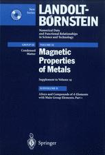 Alloys and Compounds of d-Elements with Main Group Elements. Part 1