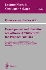 Development and Evolution of Software Architectures for Product Families