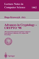 Advances in Cryptology — CRYPTO '98