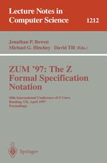 ZUM '97: The Z Formal Specification Notation