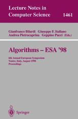 Algorithms — ESA' 98