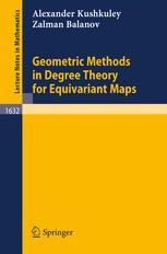 Geometric Methods in Degree Theory for Equivariant Maps