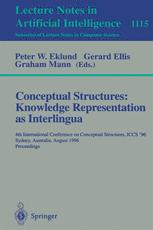Conceptual Structures: Knowledge Representation as Interlingua