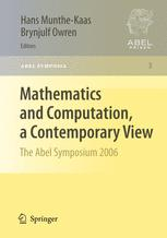 Mathematics and Computation, a Contemporary View