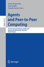 Agents and Peer-to-Peer Computing