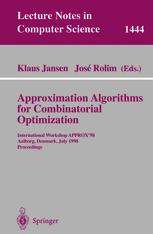 Approximation Algorithms for Combinatiorial Optimization