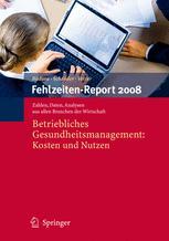 Fehlzeiten-Report 2008
