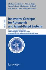 Innovative Concepts for Autonomic and Agent-Based Systems