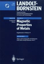 Alloys and Compounds of d-Elements with Main Group Elements. Part 2