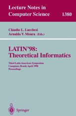 LATIN'98: Theoretical Informatics