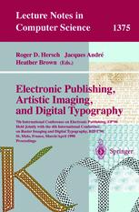 Electronic Publishing, Artistic Imaging, and Digital Typography