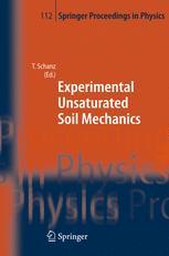 Experimental Unsaturated Soil Mechanics