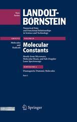 Diamagnetic Diatomic Molecules. Part 1